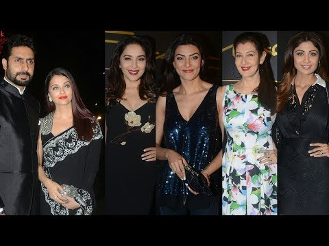 Mickey Contractor's MAC Party | Aishwarya Rai, Shilpa Shetty, Sushmita Sen, Madhuri Dixit