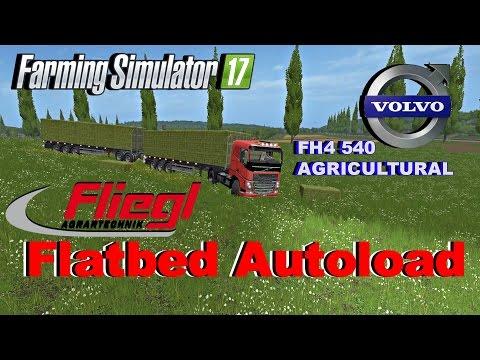 Farming Simulator 17 BALE TRANSPORT C.O. #2