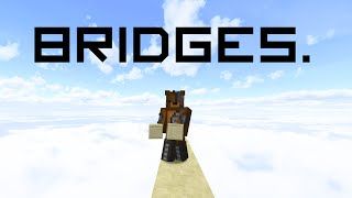 All bridging techniques in Minecraft!
