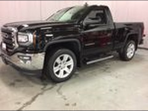 2017 gmc sierra 1500 sle 4wd regular cab lane keep assist black oshawa on stock 170533 youtube. Black Bedroom Furniture Sets. Home Design Ideas