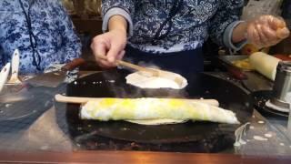 Chinese Street Food - Harbin Ice Town - Jian Bing