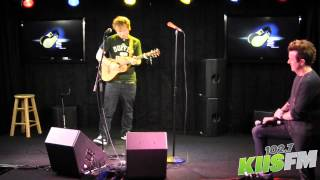 102.7 KIIS-FM: Ed Sheeran Loop Pedal Tutorial with JoJo