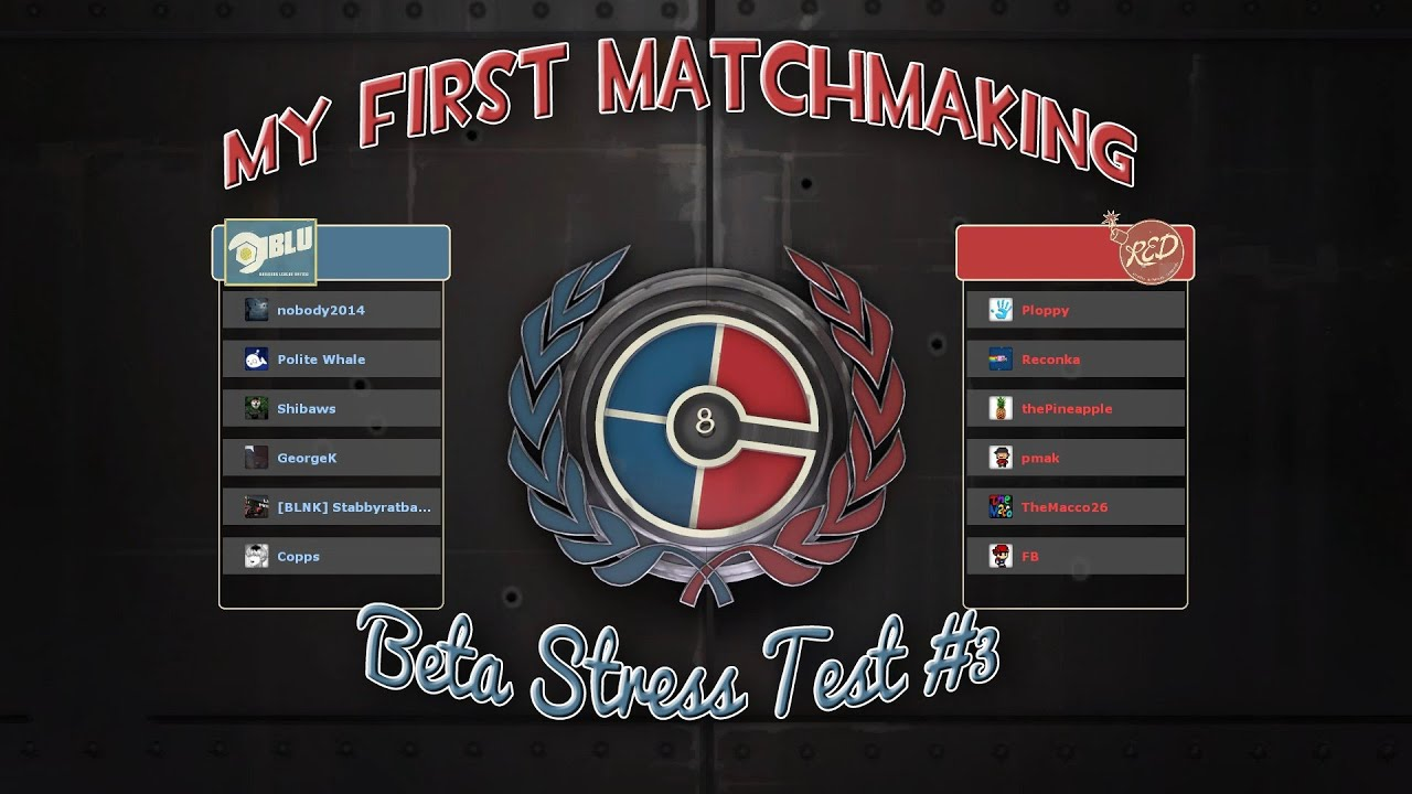 Tf2 comp matchmaking
