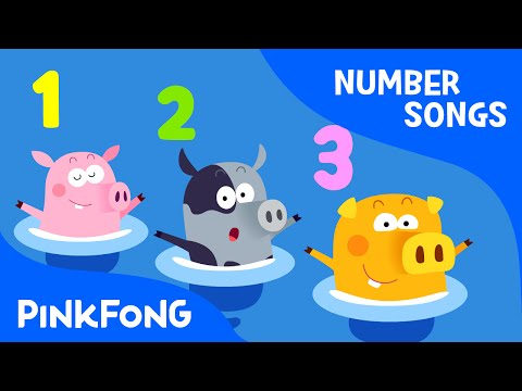 Three Little Pigs  | Number Songs | PINKFONG Songs for Children