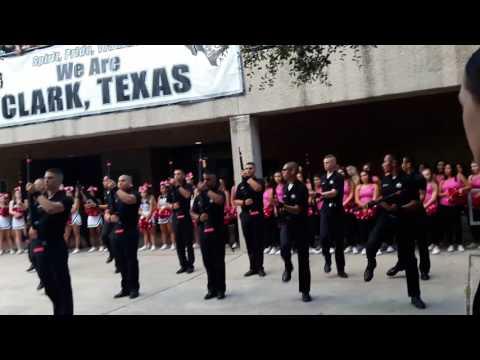 Pink Out Pep Rally! Centurion Guard. Clark High School