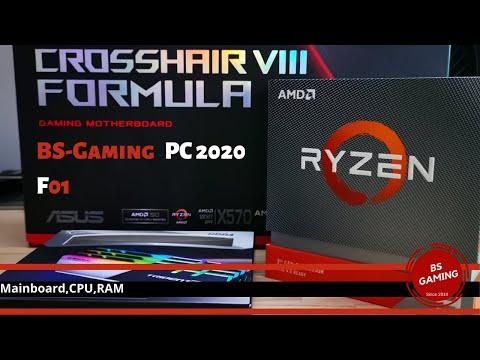 Neuer BS Gaming  PC 2020   Mainboard,CPU,RAM & Rückblick PC 2019