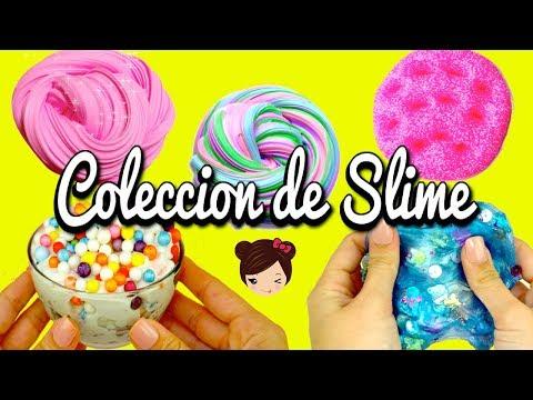 Mi Coleccion de Slime! Slime de Unicornio, Brillante, Fluffy Crunchy - Juguetes de Titi