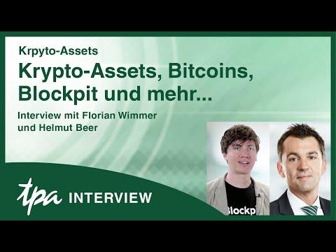 Kryptowährungen, Bitcoins, Staking & mehr - TPA Interview & Tipps von Florian Wimmer von Blockpit