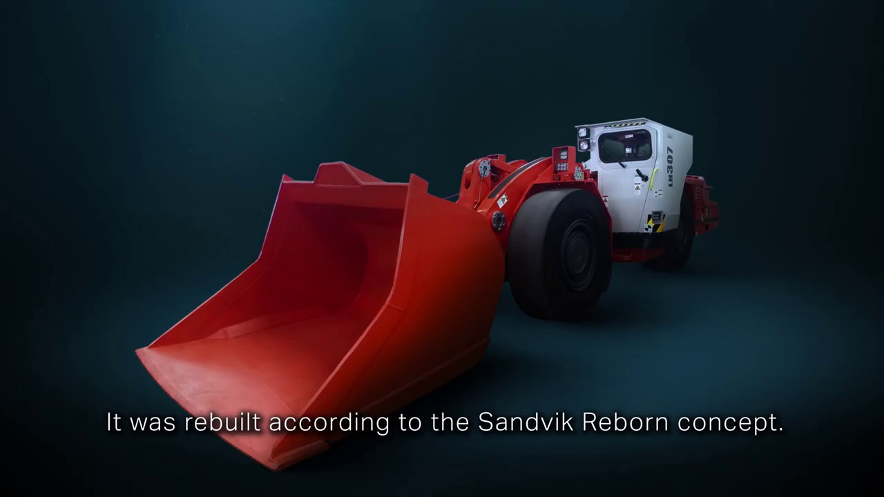 Sandvik Rebuild Solution