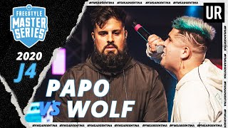 PAPO vs WOLF | FMS Argentina 2020 | Jornada 4 | Urban Roosters