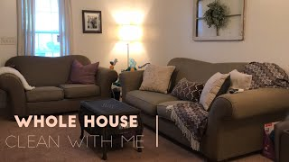 WHOLE HOUSE CLEAN WITH ME | Grocery Shopping and Getting Ready for Family