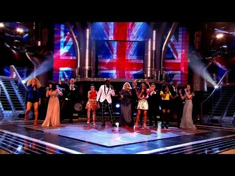 The quarter finalists group performance - The Voice UK 2014: The Live Quarter Finals - BBC One