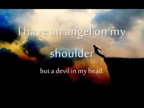 Angel on My Shoulder Lyrics on Screen  Kaskade feat Tamra Keenan