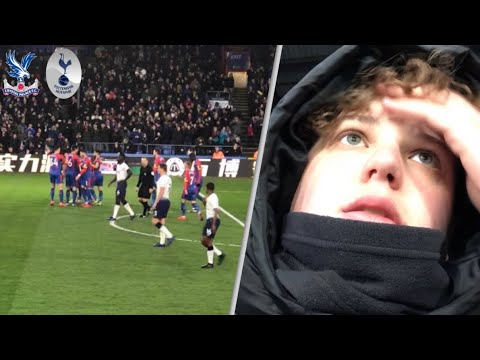 Crystal Palace 2-0 Tottenham! Away FA Cup 5th round Match Day Vlog! Knocked out of another cup.