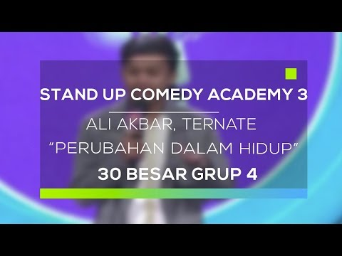Stand Up Comedy Academy 3 : Ali Akbar, Ternate - Perubahan Dalam Hidup