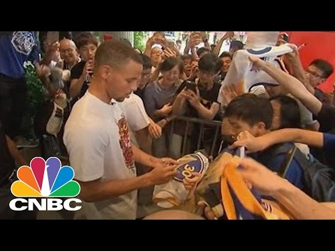 Stephen Curry And Under Armour Take On China To Cultivate Sneaker Consumers | CNBC