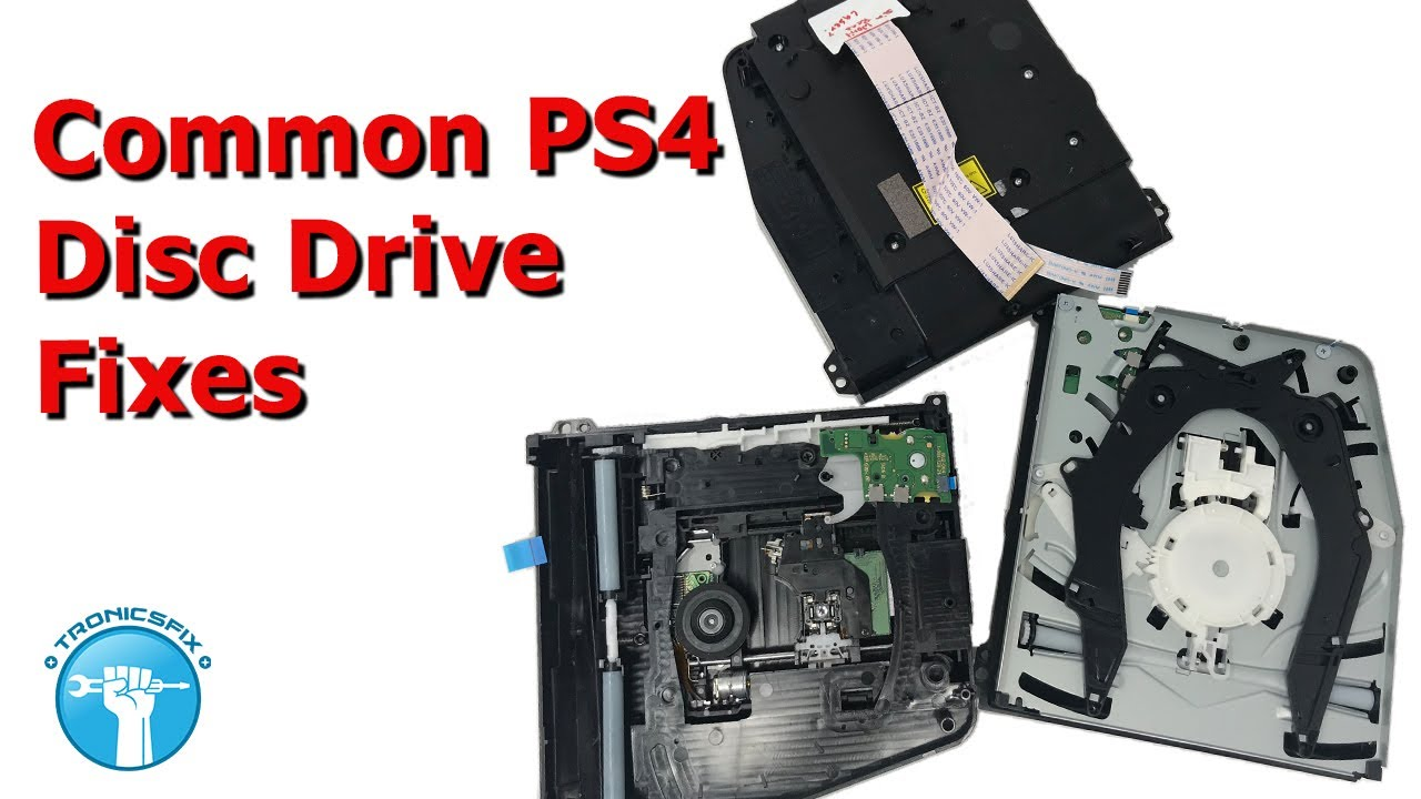 How to Fix Your PS4 Disc Drive Problems