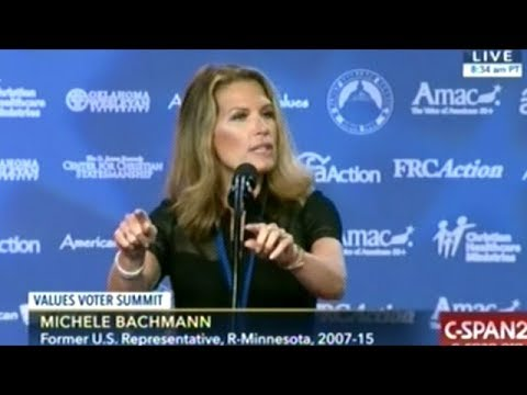 "Michele Bachmann ""Maybe Some Of You Watching On TV Don't Know Where You Will Spend Eternity!"""