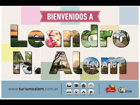 Ciudad de Leandro N Alem, paseo turístico
