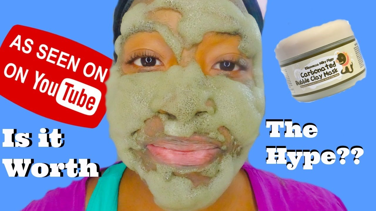 carbonated bubble clay mask benefits