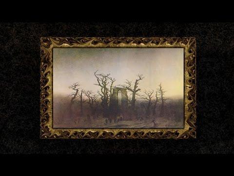 Caspar David Friedrich  the romantic painter (1774 - 1840)