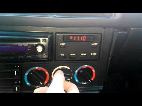 Ремонт блока управления печкой INKR II  BMW E34