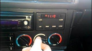 Жөндеу, басқару блогын печкой INKR II BMW E34