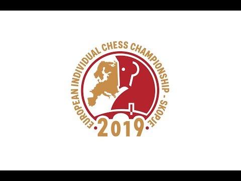 Round 1 - European Individual Chess Championship 2019