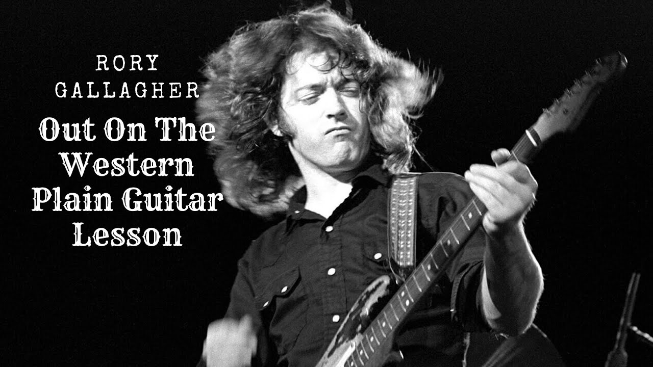 Rory Gallagher Out on the Western Plain Guitar Lesson