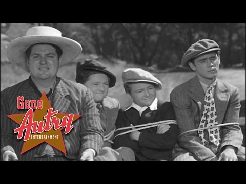 Gene Autry & Smiley Burnette - In the Jailhouse Now (from Prairie Moon 1938)
