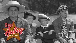 Gene Autry and Smiley Burnette - In the Jailhouse Now (from Prairie Moon 1938)