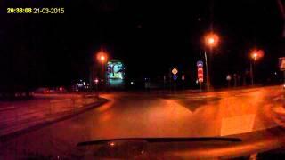 авария Северодвинск 2015(пропустил пешехода., 2015-03-21T19:25:12.000Z)