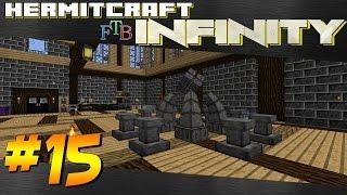 Minecraft Hermitcraft FTB Infinity - Ep 15 - Arcane Infusion