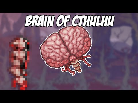 Terraria IOS/Android: How to summon: Brain of Cthulhu
