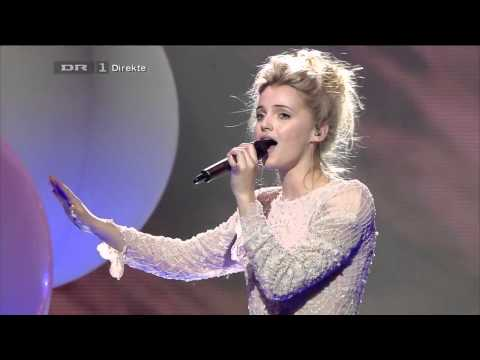The X Factor Denmark 2012 - Final Live Show - Ida sings 'Paradise' - HD