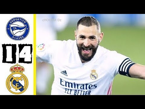 Alavs vs. Real Madrid - Football Match Report - January 23, 2021 ...