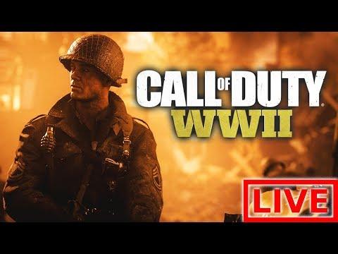 """СУББОТНИЙ ЛАМПОВЫЙ СТРИМ (ИГРАЕМ - ОБЩАЕМСЯ) """"ПРОХОЖДЕНИЕ Call of Duty: WWII"""""""