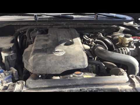 Треск двигателя Nissan Pathfinder