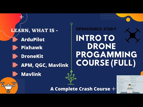Introduction to Drone Programming   Part-1 [Zero to Advance Full Course]