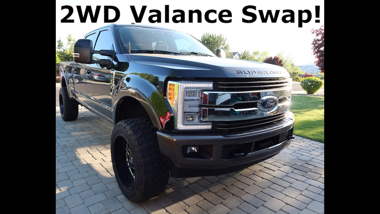 2017 19 Ford Super Duty 2wd Valance Install Youtube
