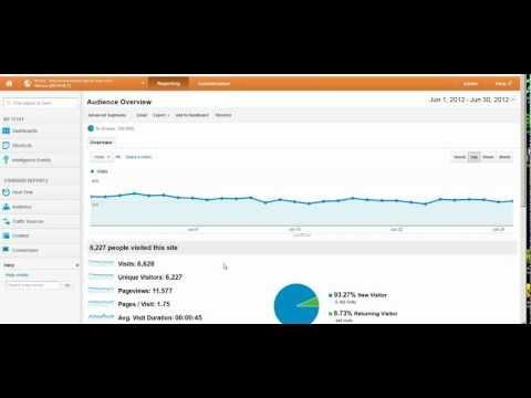 Basic Web Traffic Analysis In Google Analytics