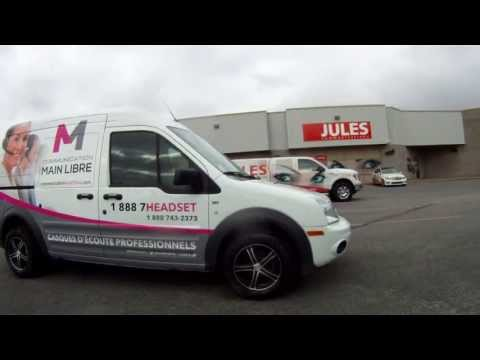 Nouveau logo, nouvelle image et lettrage de véhicule par Jules Communications