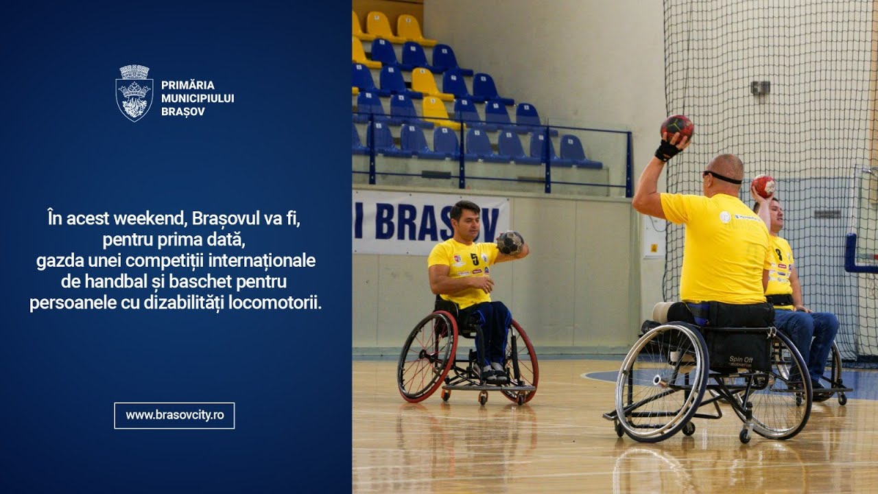 Brașovul va fi gazda unei competiții internaționale de handbal și baschet