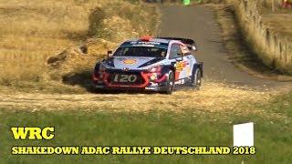 WRC-SHAKEDOWN ADAC RALLYE DEUTCHLAND 2018