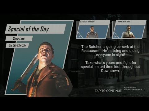 mafia 3 rivals : timed event special of the day