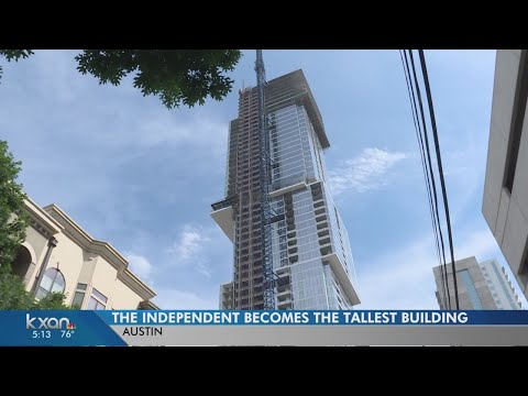 New high rise officially takes title of tallest building in Austin