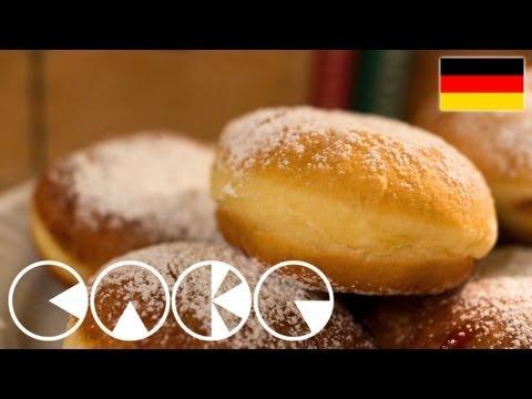 KRAPFEN - BERLINER - Rezept