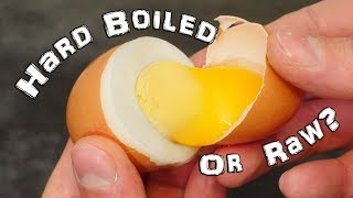 Hard Boiled Or Raw Egg? - How to Tell Life Hack