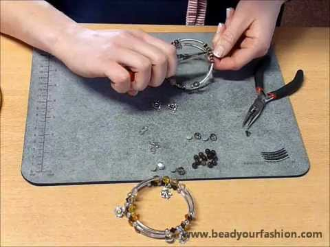 schmuck herstellen diy projekt 5 ein spiralarmband herstellen youtube. Black Bedroom Furniture Sets. Home Design Ideas