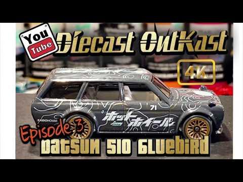 Datsun Bluebird 510 Hotwheels Custom Episode 3 Diecast OutKast